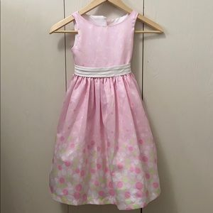 Bonnie Jean Pastel Spring Special Occasion Dress